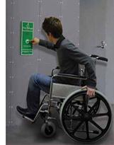 Disabled refuge system