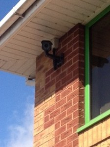 intermittent fault on a CCTV camera