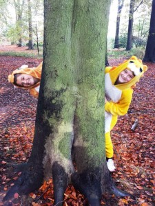 Ellie and Abbies BBC Children in Need Appeal 2015 forest