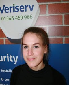 Becky Newnham, Veriserv 1st quarter winner 2016